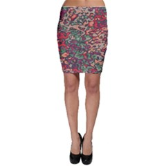 Color mix Bodycon Skirt