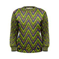 Zig Zag Pattern Women s Sweatshirt