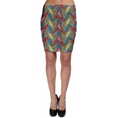 Shapes pattern Bodycon Skirt