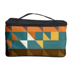 Shapes in retro colors Cosmetic Storage Case