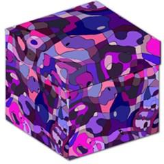 Blue purple chaos Storage Stool 12
