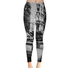 Vintage Paris Street Leggings