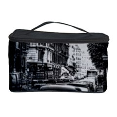 Vintage Paris Street Cosmetic Storage Case