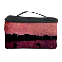 7 Geese At Sunset Cosmetic Storage Case