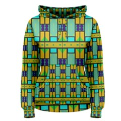 Different Shapes Pattern Pullover Hoodie