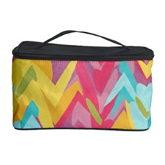 Paint strokes abstract design Cosmetic Storage Case