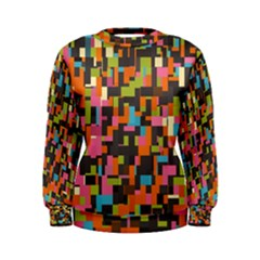 Colorful Pixels Women s Sweatshirt