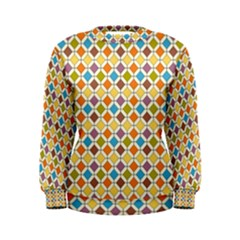 Colorful rhombus pattern Women s Sweatshirt