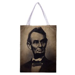 Vintage Civil War Era Lincoln Classic Tote Bag