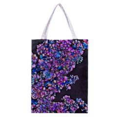 Abstract Lilacs Classic Tote Bag
