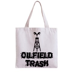 Oilfield Trash Grocery Tote Bag