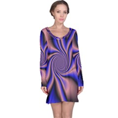 Purple Blue Swirl Nightdress
