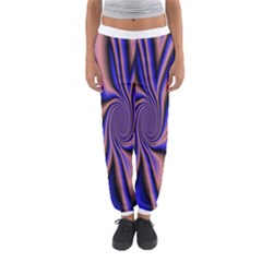 Purple Blue Swirl Women s Jogger Sweatpants