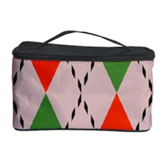 Argyle pattern abstract design Cosmetic Storage Case