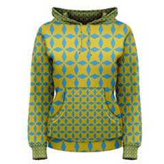 Blue diamonds pattern Pullover Hoodie