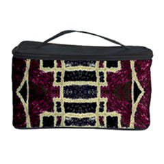Tribal Style Ornate Grunge Pattern  Cosmetic Storage Case