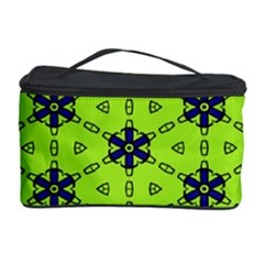 Blue flowers pattern Cosmetic Storage Case