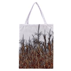 Abstract Of A Cornfield Classic Tote Bag