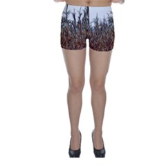 Abstract of a Cornfield Skinny Shorts