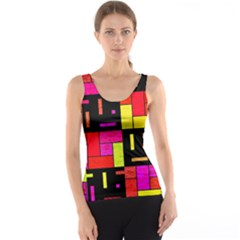 Squares and rectangles Tank Top