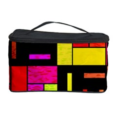 Squares And Rectangles Cosmetic Storage Case