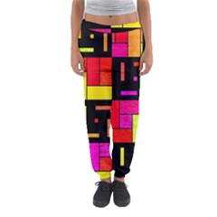 Squares And Rectangles Women s Jogger Sweatpants