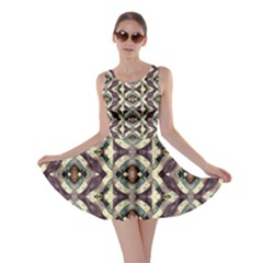 Geometric Abstract Grunge Skater Dress