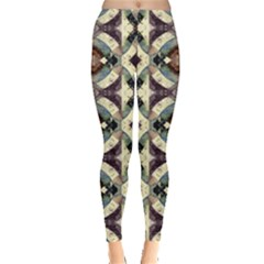 Geometric Abstract Grunge Leggings