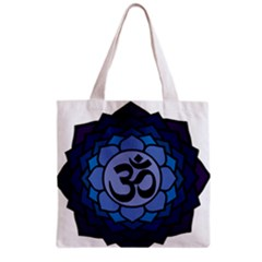 Ohm Lotus 01 Grocery Tote Bag