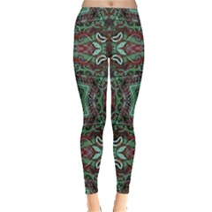 Tribal Ornament Pattern  Leggings
