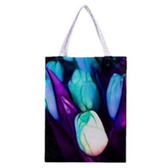 Abstract Purple Tulips Classic Tote Bag