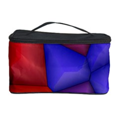 3d Colorful Shapes Cosmetic Storage Case