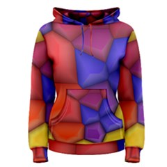 3d Colorful Shapes Pullover Hoodie