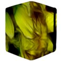 Abstract Yellow Daffodils Apple iPad 3/4 Flip Case View4