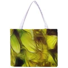 Abstract Yellow Daffodils Tiny Tote Bag