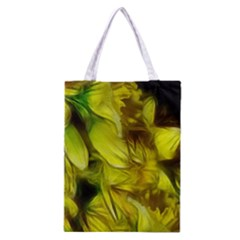 Abstract Yellow Daffodils Classic Tote Bag