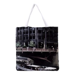 Adams Street Bridge Grocery Tote Bag