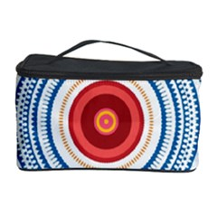 Colorful Round Kaleidoscope Cosmetic Storage Case