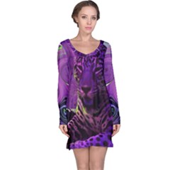 L319 Long Sleeve Nightdress