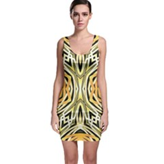Art Print Tribal Style Pattern Bodycon Dress