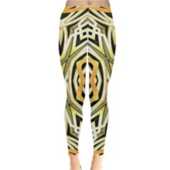 Art Print Tribal Style Pattern Leggings