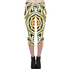 Art Print Tribal Style Pattern Capri Leggings