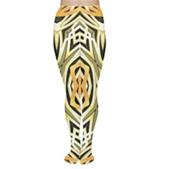 Art Print Tribal Style Pattern Tights