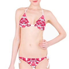 Floral Print Swirls Decorative Design Bikini