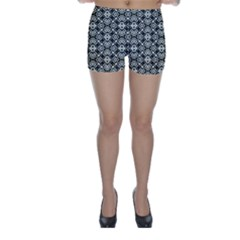 Abstract Geometric Modern Pattern Skinny Shorts
