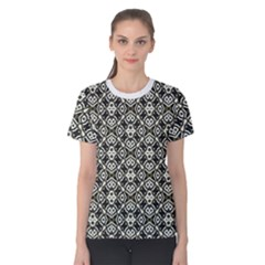 Abstract Geometric Modern Pattern Women s Cotton Tee