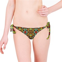 Colorful Tribal Geometric Pattern Bikini Bottom