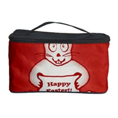 Cute Bunny Happy Easter Drawing Illustration Design Cosmetic Storage Case
