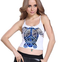 Peace Turtle Women s Spaghetti Strap Bra Top