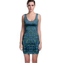 Cebu Turtles Bodycon Dress